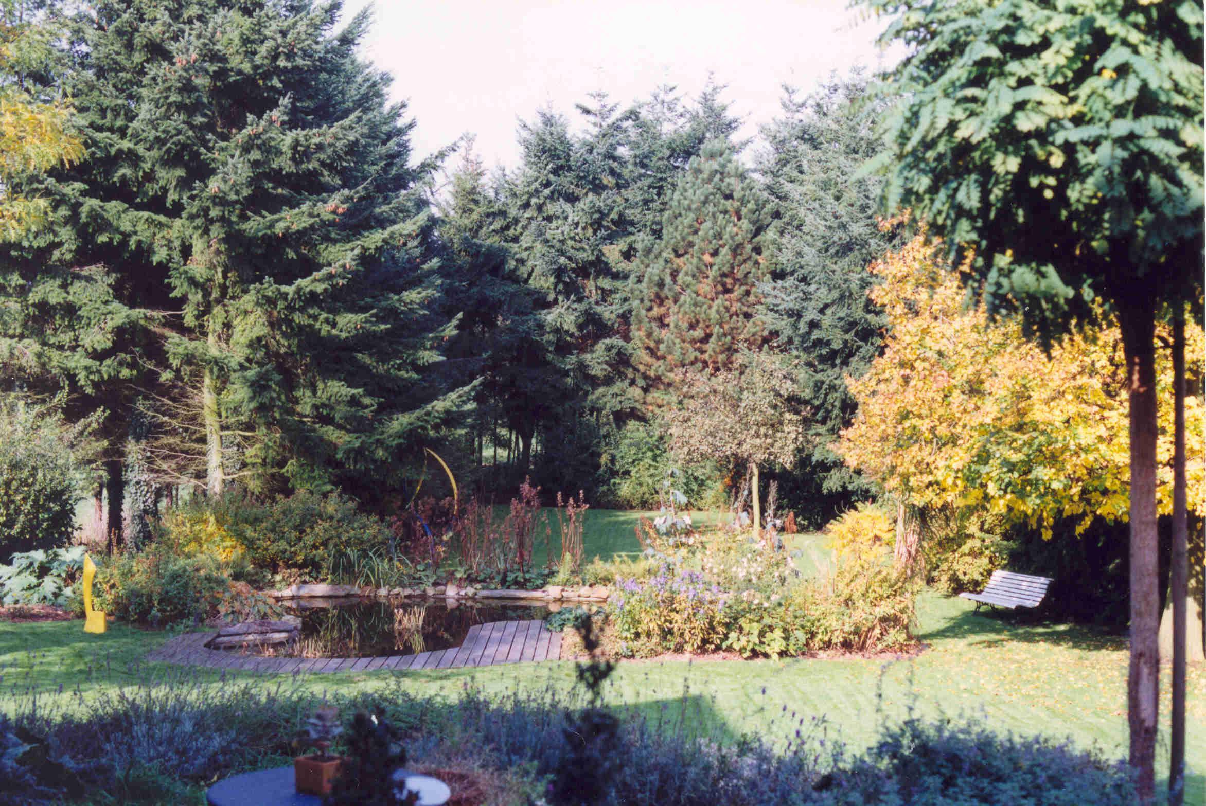 Tuin voor aanvang